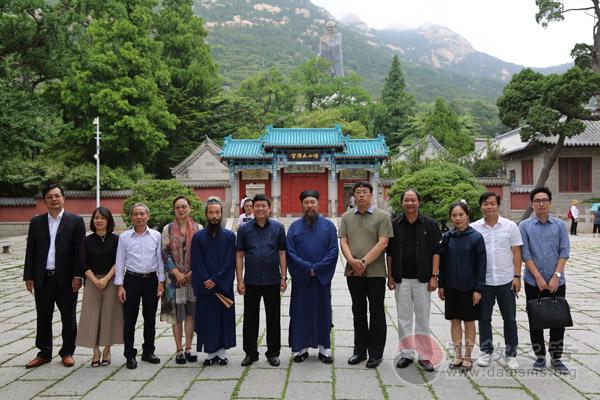 越南宗教委访华代表团到崂山太清宫参观访问