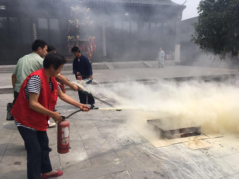 江苏省泰州市民宗局组织开展消防专题活动