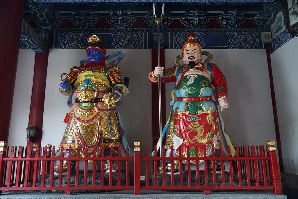 广东江门新会紫云观神像欣赏