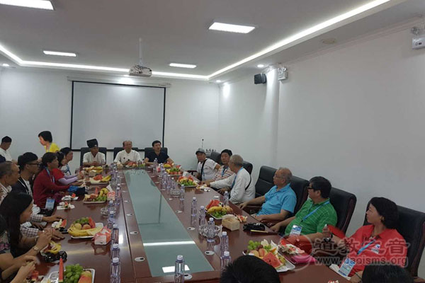 香港国际道教文化协会一行赴宁夏参访交流