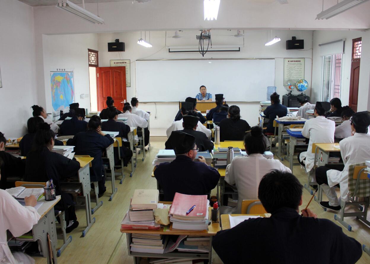 浙江道教学院召开暑期前安全教育专题讲座