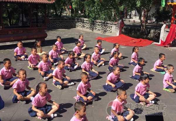 山西省朔州市古城文庙隆重举行学童开笔礼