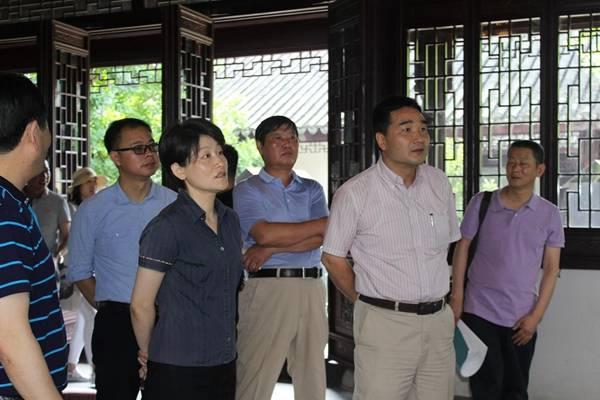 上海市民宗委主任到上海道教学院新址视察