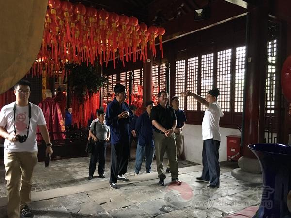上海市奉贤区道教协会参访江苏苏州城隍庙
