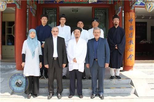 伊朗大使馆文化参赞一行到访中国道教协会