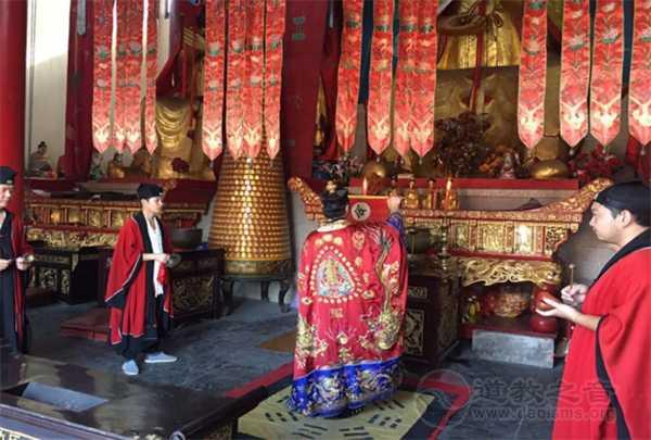 江苏道教界举办中国道协成立60周年祈福法会