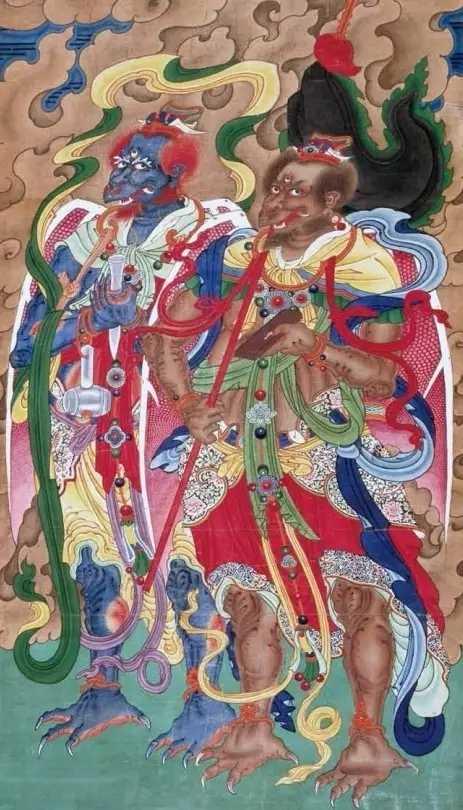 歘火律令邓元帅:扶教度人发大誓愿,代天诛伐恶逆救生度死