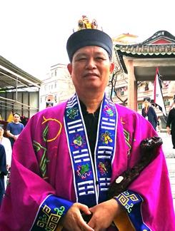 中国道教协会副会长、广东省道教协会会长赖保荣道长