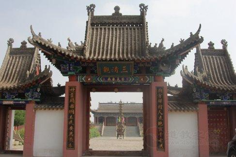 宁夏银川贺兰县洪广营三清观(图集)