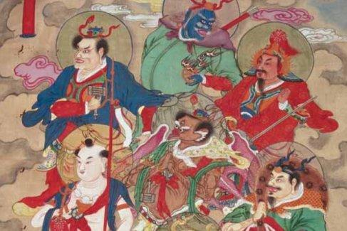 神烈陽雷茍天君:五雷蕩兇大元帥,掃蕩妖氛革除魔試