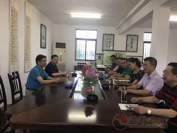 江苏镇江高新区管委会副主任一行调研润州道院