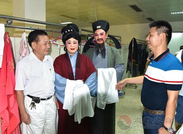 潮剧《妈祖》在广东潮剧院慧如剧场首演