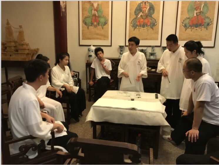 浙江永嘉乌牛东蒙山天然道观开展讲学活动