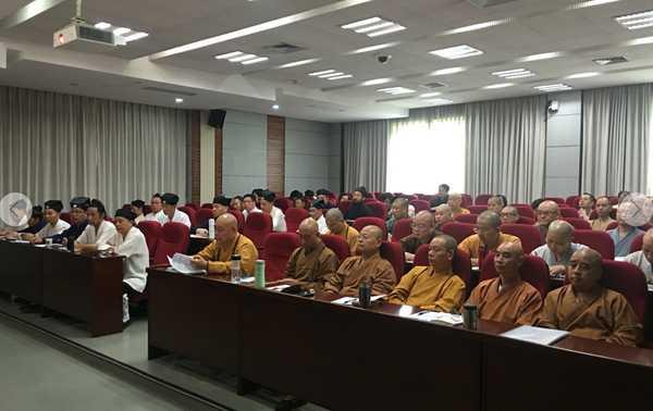 浙江省佛协、道协常务理事培训班在杭州举行