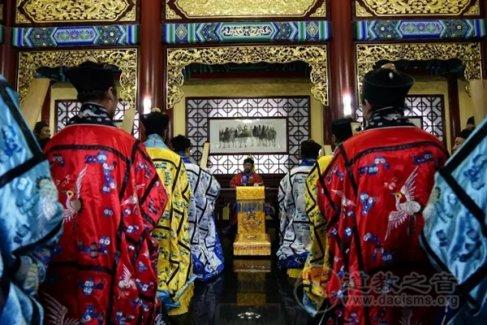 山东崂山太清宫隆重举行十方丛林监院升座仪式