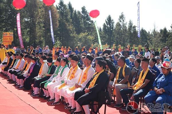 吉林省吉林市舒兰玉龙宫隆重举行奠基活动