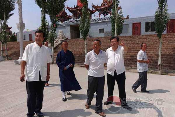 陕西榆林市榆阳区道协用传统文化增进蒙汉团结