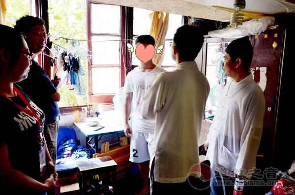 上海白云观慈爱功德会(筹)举行助学活动