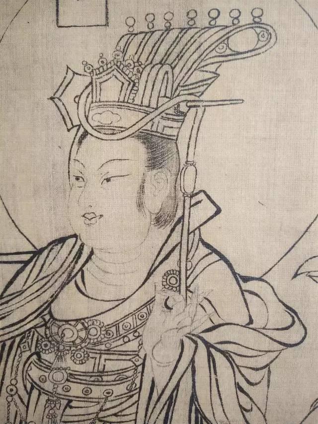 北宋八十位神仙线描图