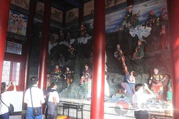 印尼道教参访团一行到吉林玄帝观参访交流