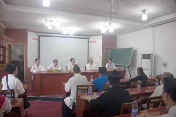 北京市道教协会副会长一行到龙虎山天师府参访
