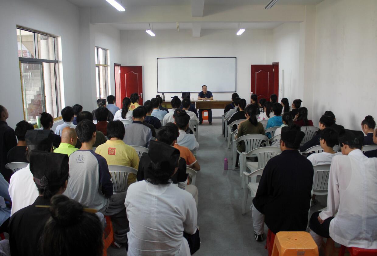 浙江道教学院组织全体师生学习新修订《宗教事务条例》