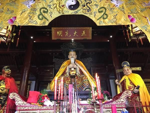 """苏州城隍庙将举行""""祭城隍""""典礼暨首届城隍民俗节"""