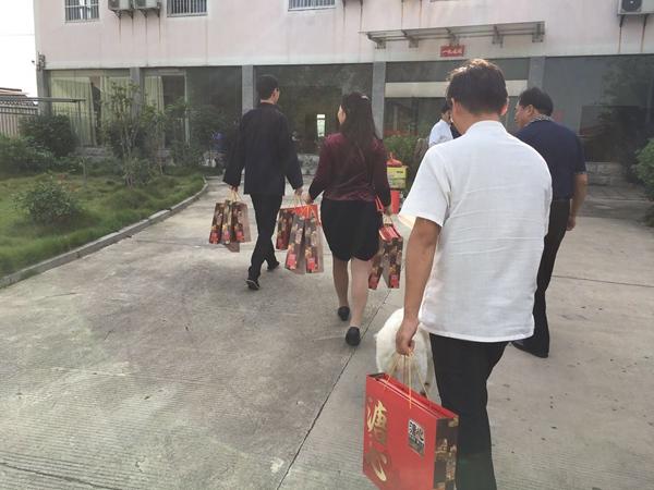 镇江市道协会长一行到道缘夕阳红养老院慰问
