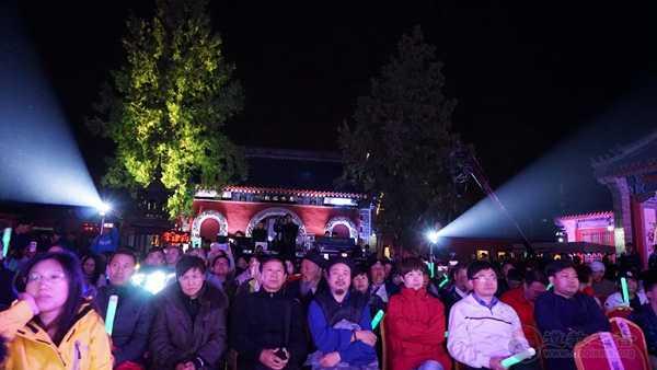 """北京怀柔关公庙举办""""恭祝月老圣诞《道•民俗》""""李建科原创歌曲演唱会"""