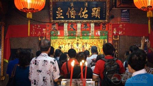 不只是中國,道教在新加坡各個族群廣泛傳播
