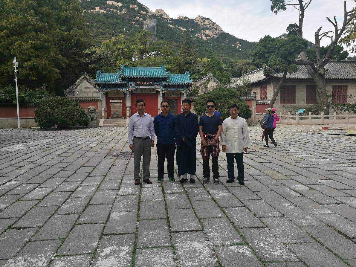 上海闵行区道协参访团赴山东青岛崂山参访