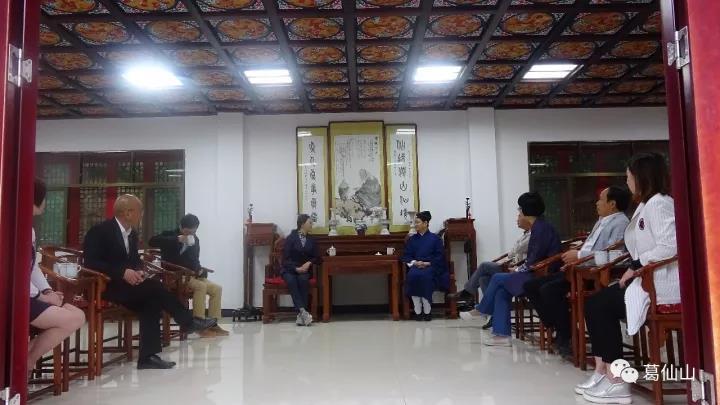 上饶市人民政府副市长郑少薇一行到葛仙山调研