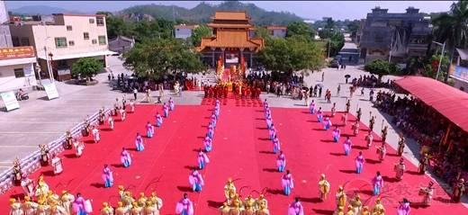 陆丰市妈祖文化研究会举办成立15周年庆典暨