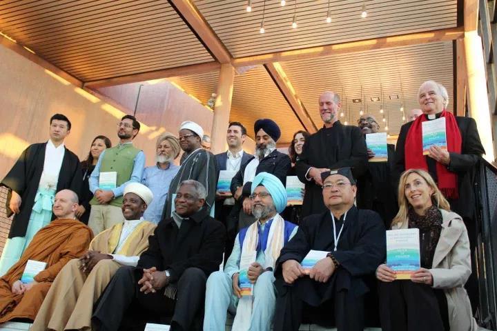 杨世华道长应邀赴瑞士参加国际宗教会议