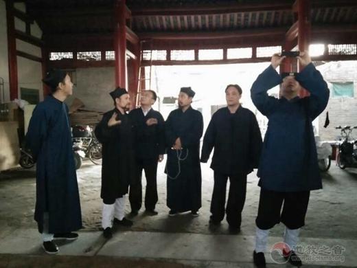 中国人民大学爱国宗教人士研修班道教学员到济南、泰安等地参访学习