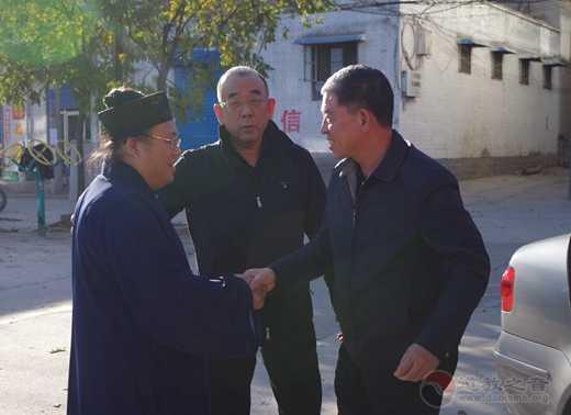 太原市委统战部副部长张树明调研太原市道协