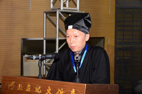 董沛文副会长:深入学习贯彻党的十九大精神,依法推进道教事业健康发展