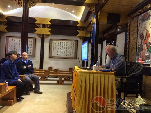 上海城隍庙举办国家级非遗道教音乐讲座