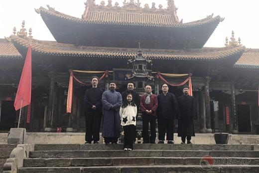 中国人民大学爱国宗教人士研修班道教学员到太原参访学习