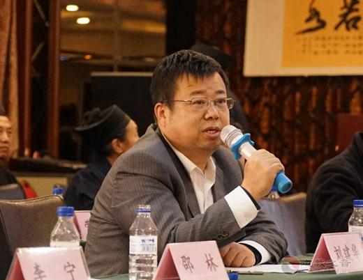 千山风景区管委会副主任刘建华在讲话中表示,欢迎千山在外地弘道