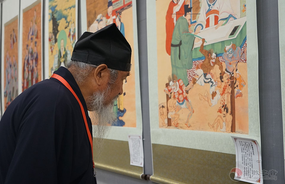 11月16日,第二届道教文化艺术展开展仪式隆重举办。内容丰富,古今兼备,艺术水准较高。