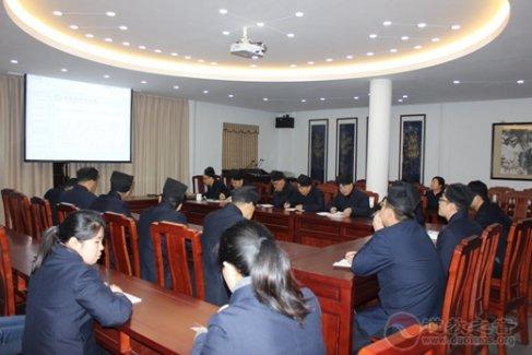 苏州玄妙观组织学习新修订的《宗教事务条例》和《十九大报告》