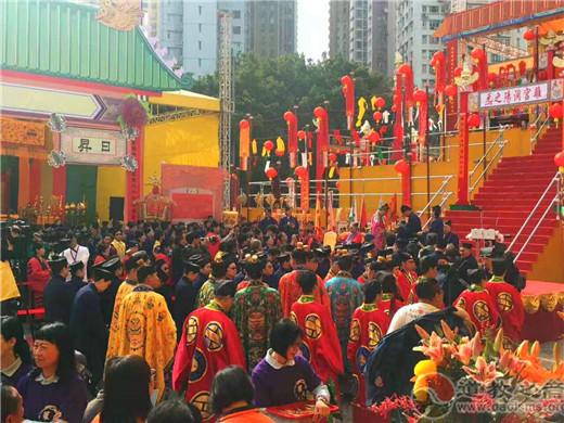 香港丁酉年罗天大醮活动隆重举行