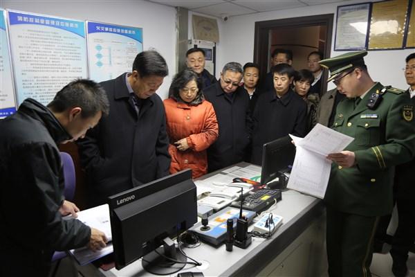 北京市宗教事务局(民委)突击检查消防安全