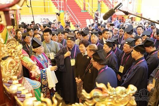 国家宗教事务局局长和中国道教协会会长到访啬色园