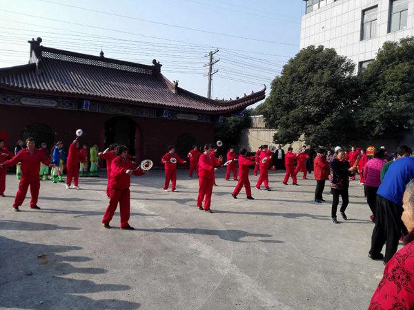 江苏镇江市润州道院举行十月金牛山庙会