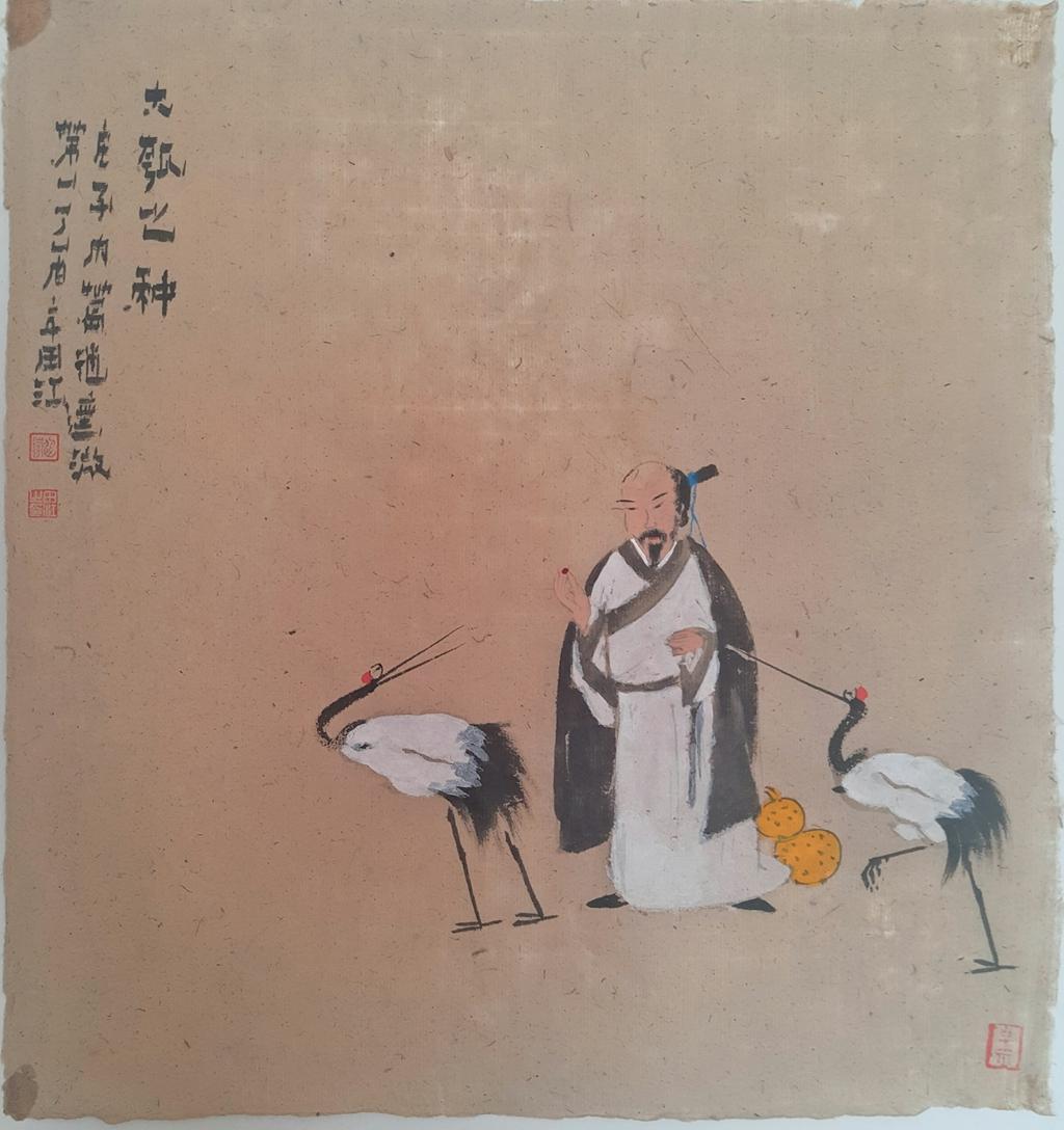 田江书画作品赏析