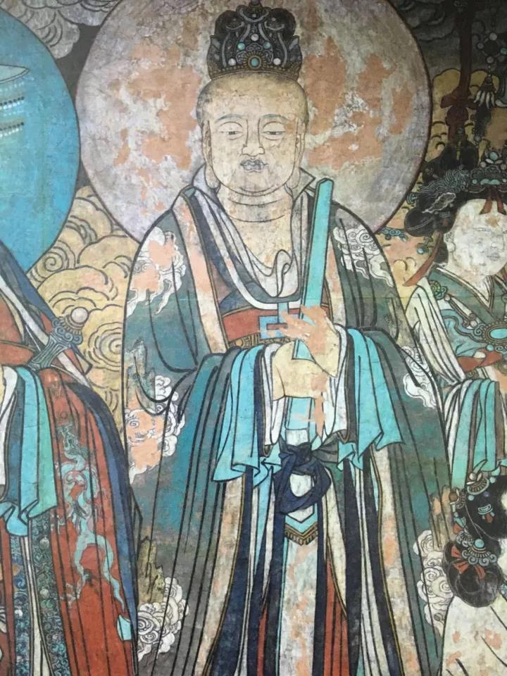 元代壁画神仙赴会图