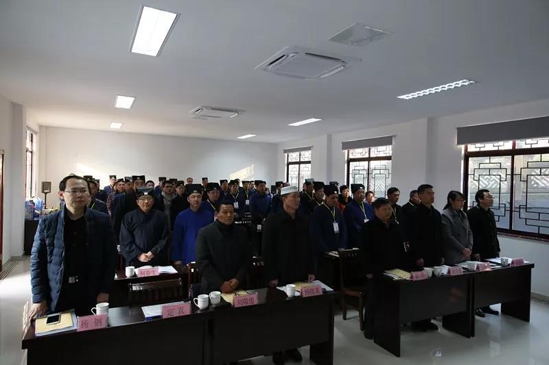 杨世华道长当选新一届句容市道教协会会长