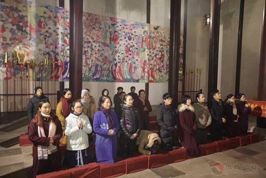 茅山乾元观举行新年撞钟祈福活动